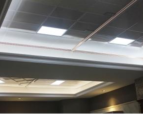 铝扣板天花样板展区