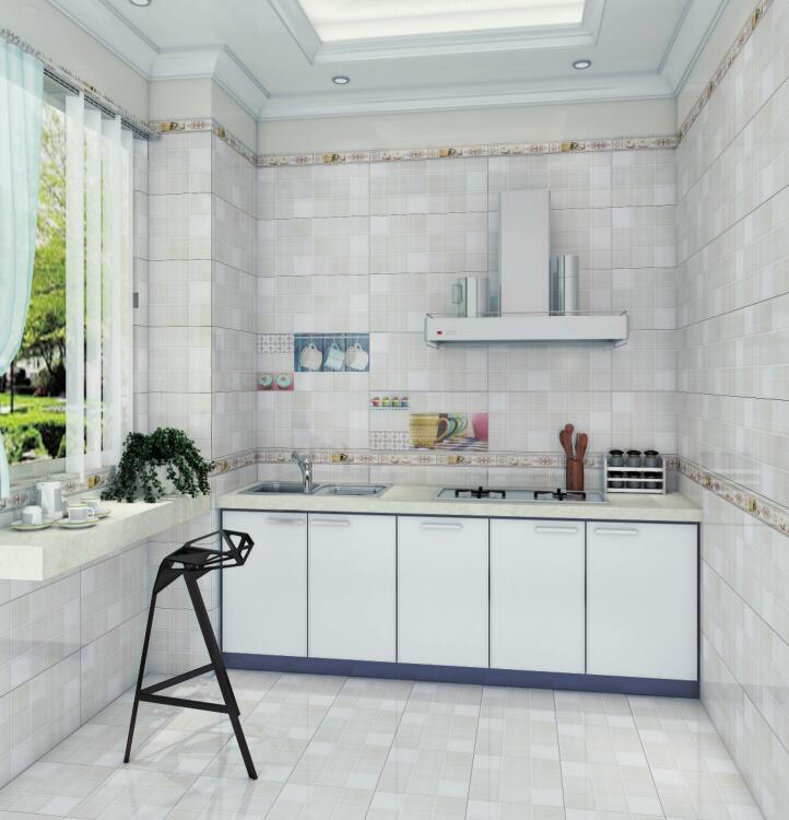 厨房 墙砖 地砖 简欧风格瓷砖300x600
