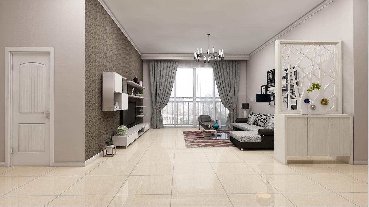 欧式风格客厅防滑耐磨全抛釉瓷砖